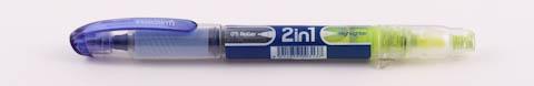 Ручка Inoxcrom 2in1 roller+highlighter