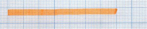 Пример линии, сделанной маркером Pentel Handy-line S