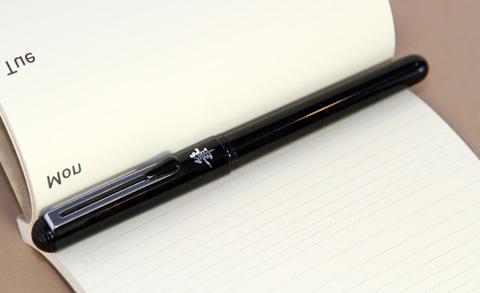 Ручка pentel pocket brush с закрытым колпачком