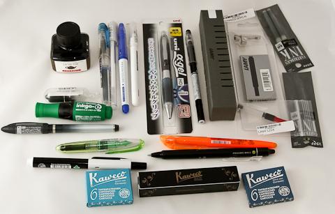 Заказ с jetpens: роллеры, гелевые и чернильные ручки