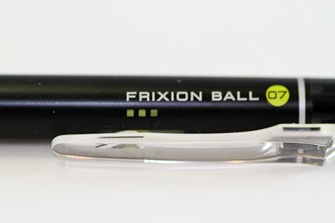 Ручка Pilot Frixion 0.7 (клип и индикатор включения)