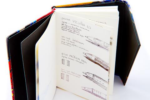 Блокнот PaperBlanks, открытый