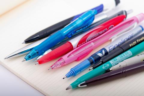 Ручки, купленные в париже