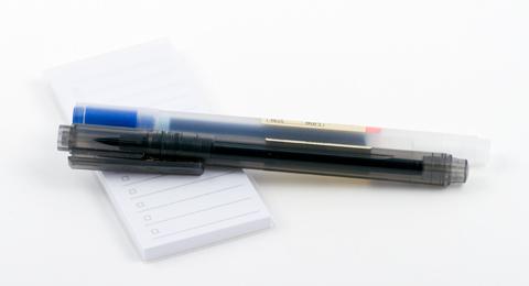 Ручки muji, гелевая и для каллиграфии