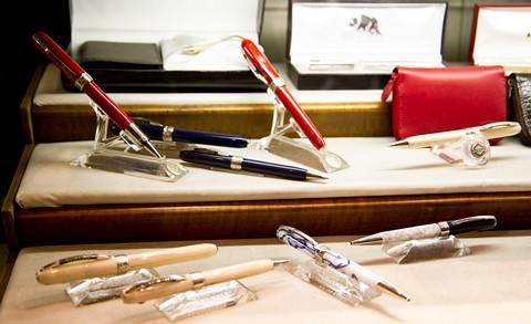 Ручки Visconti в туринском магазине ручек