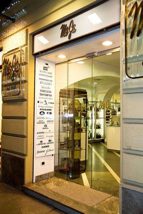 Магазин MeGa в Турине