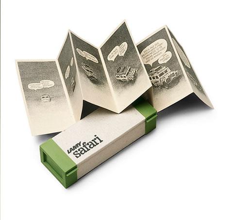 Коробка первого выпуска Lamy Safari
