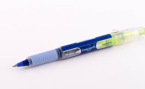 Ручка Inoxcrom со снятым колпачком