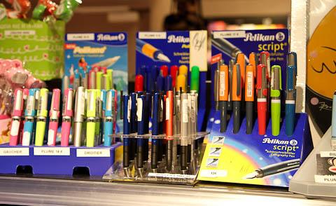 Ручки Pelikan в Монпелье