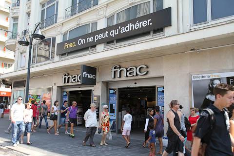 Магазин FNAC в Ницце