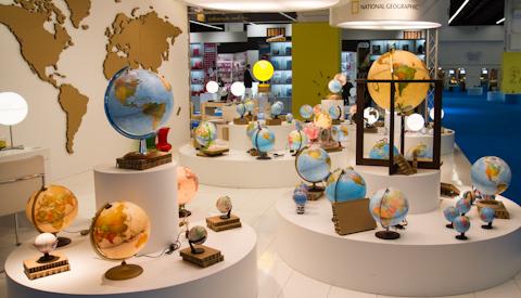 Глобусы на PaperWorld 2013