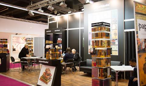 Блокноты PaperBlanks на PaperWorld 2013