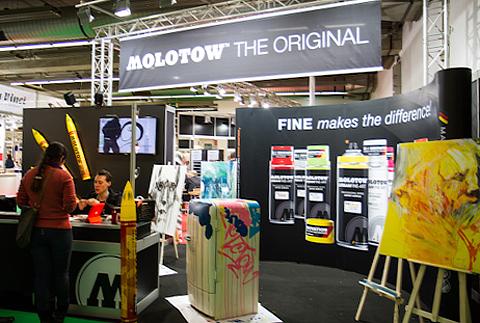 Molotow на выставке PaperWorld 2013 (Франкфурт)