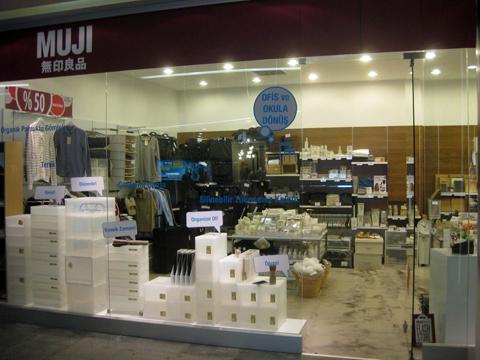 Магазин Muji