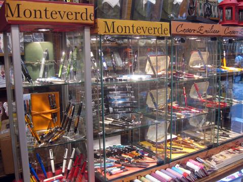 Ручки Monteverde и Cezare Emiliano