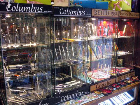 Ручки Columbus и Retro 51