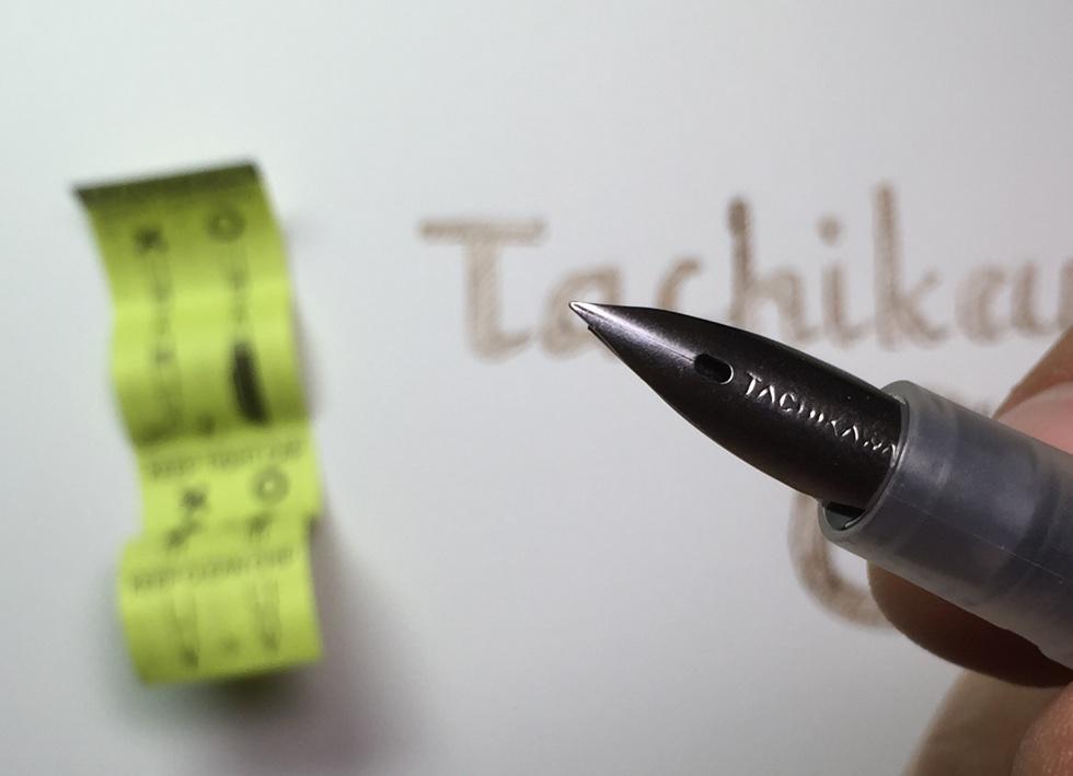 Перо ручки Tachikawa G