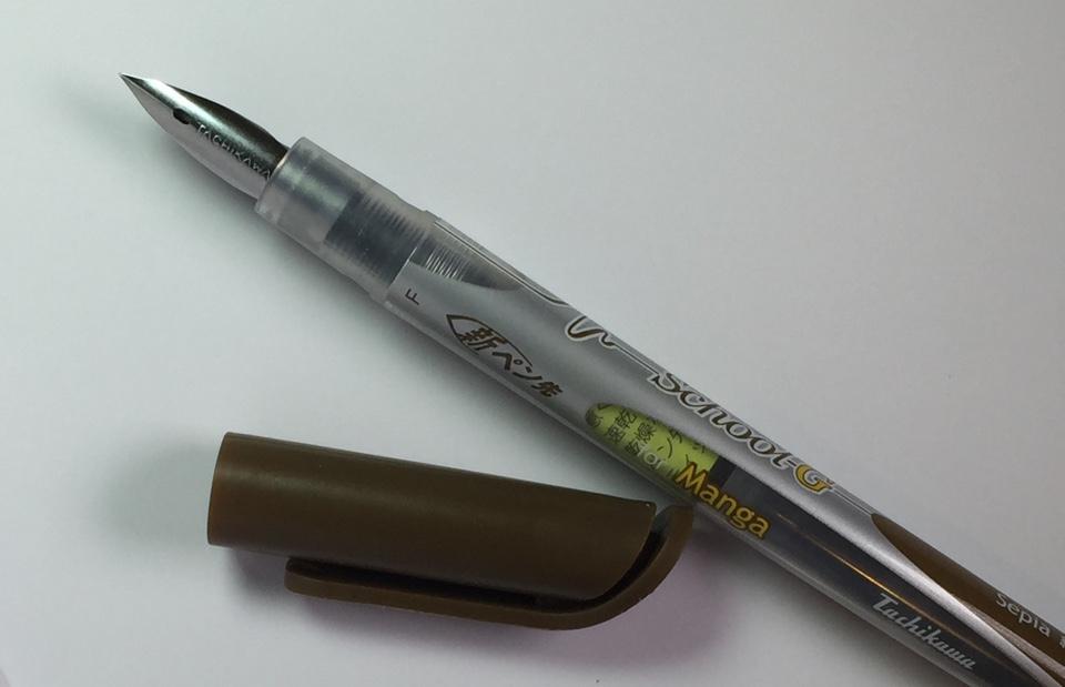 Перьевая ручка Tachikawa без колпачка